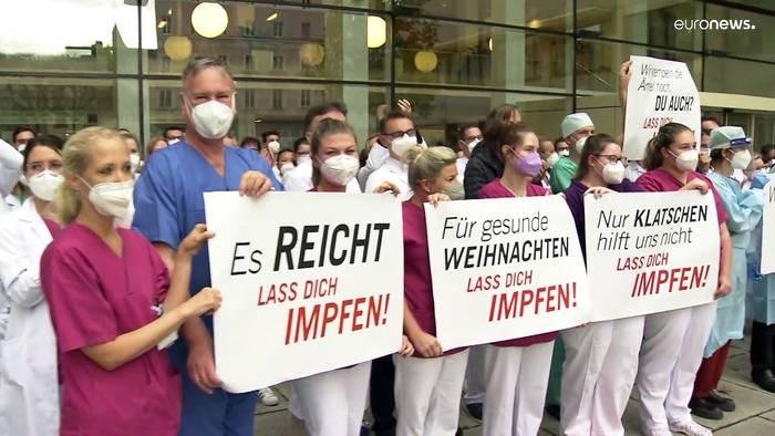 Video: Protest in Oberösterreich: