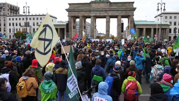 News video: #IhrLasstUnsKeineWahl - Klimaproteste in Berlin