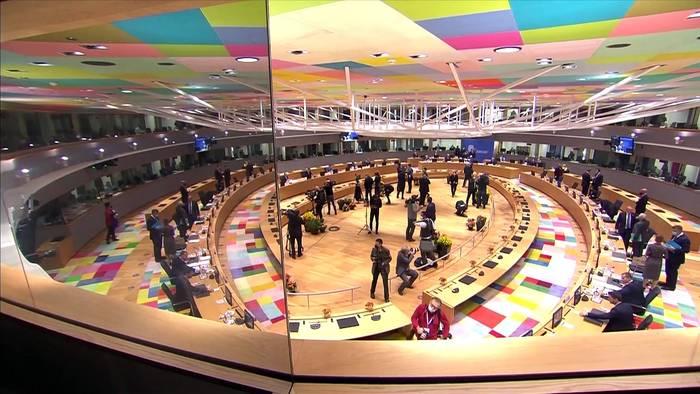 News video: EU-Gipfel: Scharfe Kritik an Lukaschenko und Ovationen für Merkel