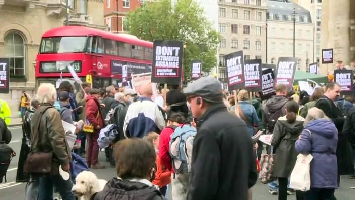 News video: Assange-Prozess um Auslieferung: 175 Jahre Haft drohen in den USA