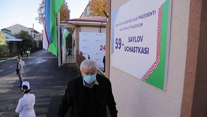 News video: Präsidentenwahl mit vorhersehbarem Ausgang in Usbekistan