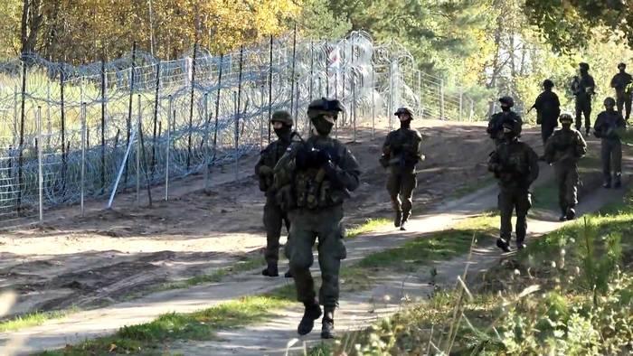 News video: 457 versuchte illegale Grenzübertritte aus Belarus - in 24 Stunden